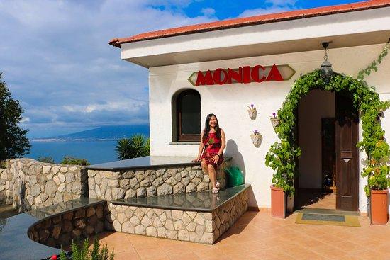 Villa Monica B&B: View of the ocean