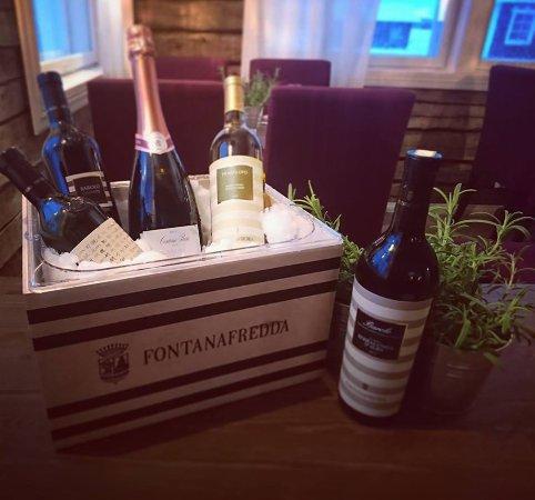 Yllasjarvi, Finland: Wines from Fontana Fredda