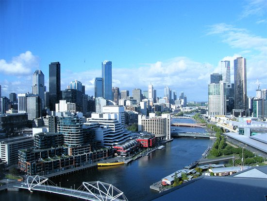 Pan Pacific Melbourne: Incridible views from Skyline Suite...