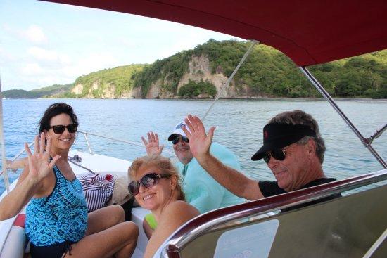 กรอสไอเลต, เซนต์ลูเซีย: Great Day with Captain Cliff and Mozart