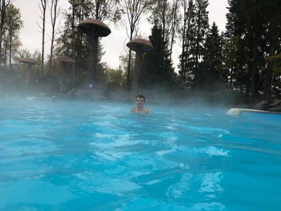 Solnechnogorsk, Rusia: Бассейн с подогревом