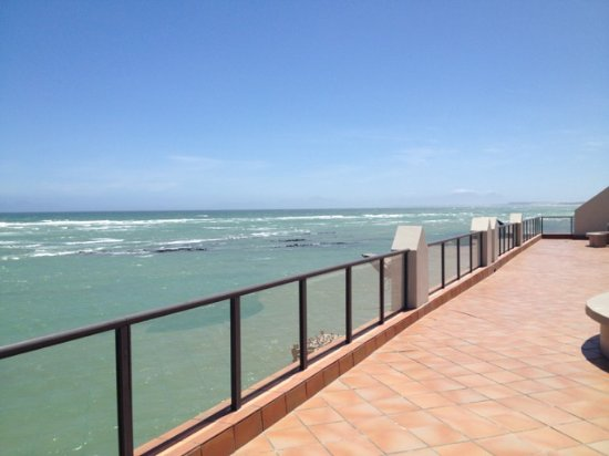 Strand, South Africa: Blick vom Dach