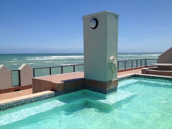 Strand, South Africa: Blick vom Dach mit kleinem Pool