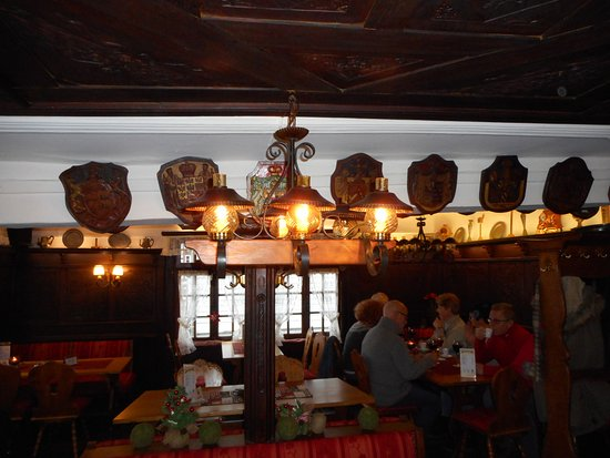 Plafond Picture Of Restaurant Rur Cafe Monschau Tripadvisor