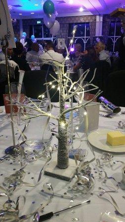 Standish, UK: Nice table decoration.