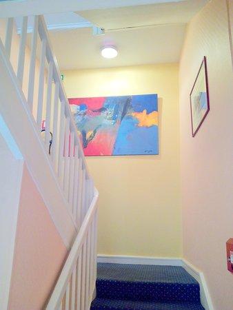 Hotel Confort: Escalier
