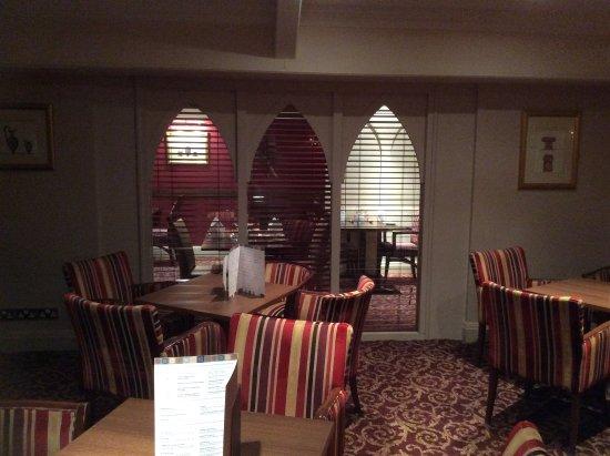 Redworth, UK: Dining room/Bar
