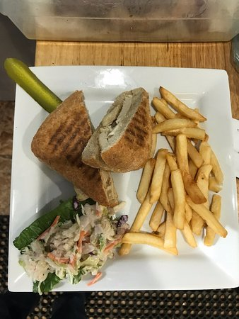 Ballston Spa, Estado de Nueva York: Chicken Panini