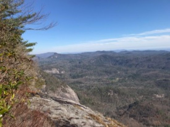 Jackson County, NC: View from Whiteside Mountain Trail