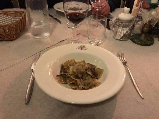 Grazzano Badoglio, อิตาลี: Agnolotti