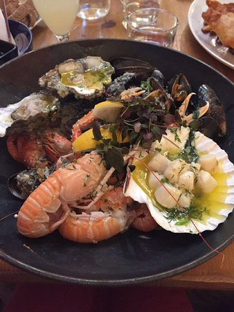 Restaurant Seafood In North Ayrshire