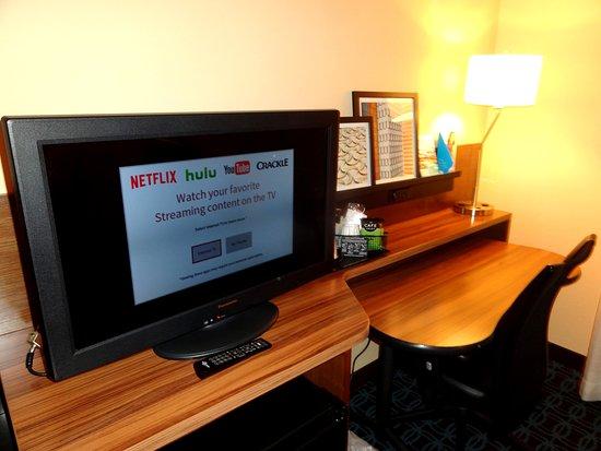 Suwanee, Geórgia: TV - Wifi worked great