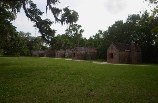 Mount Pleasant, Carolina del Sur: le case degli schiavi