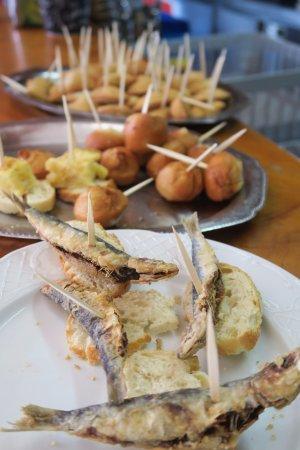 Cadavedo, Spanien: Pinchos