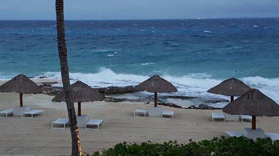 Presidente Inter-Continental Cozumel Resort & Spa : Windy last day