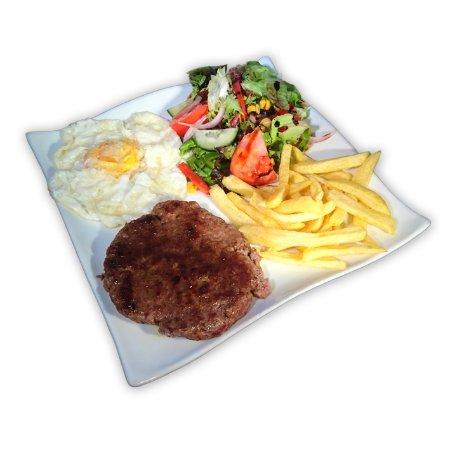 combinado de hamburguesa (un clásico)