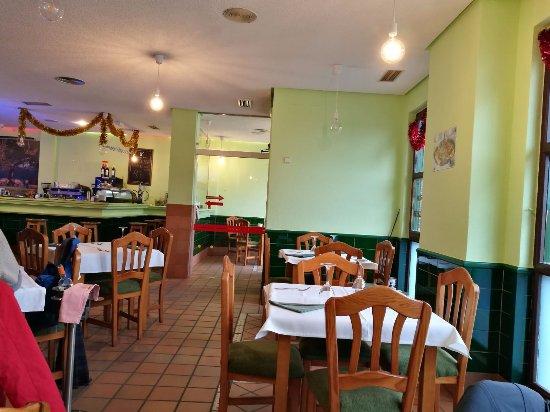 Galapagar, Испания: El local.