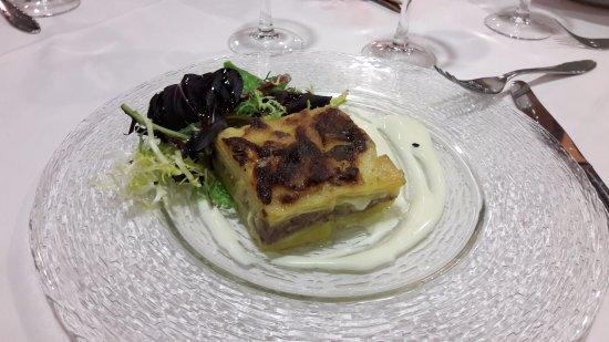 Hotel Calitxo: Diversas posibilidades de menu en el restaurante y cafeteria
