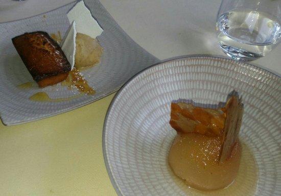 Dampierre-en-Yvelines, Γαλλία: Poire, amande sorbet agrumes, noix_large.jpg