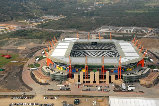 Nelspruit, South Africa: Mbombela Stadium