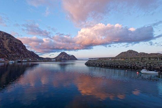 Leknes, Noruega: Same place, but another angle.