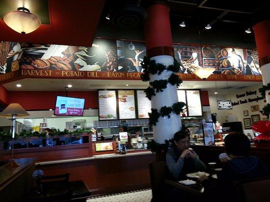 Glenview, IL: counter and menu boards