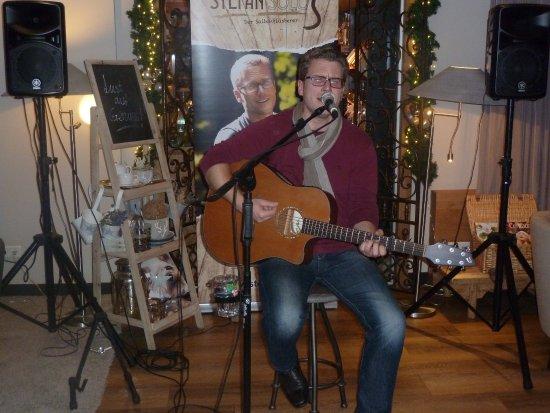 Bad Sachsa, Tyskland: Gitarrenspieler Stefan Solo