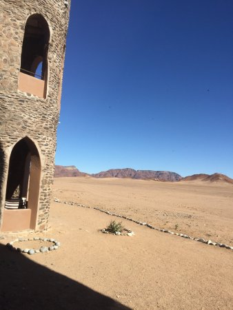 The fortress in the desert