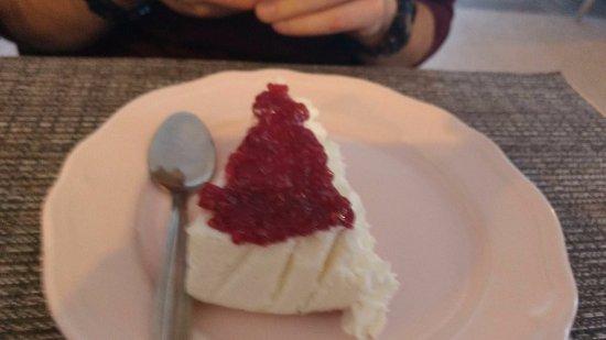 Cabra, Spain: Tarta de queso. Riquísima.