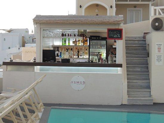 Villa Ilias Caldera Hotel: Bar