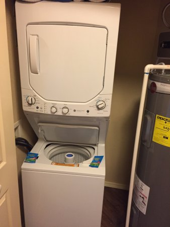 in apartment washer/dryer - Picture of Wyndham Branson at The ...