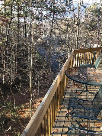 Lake Lure, Carolina del Norte: Unit 93 Upper Deck