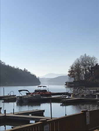 Lake Lure, Kuzey Carolina: Boat Dock Area