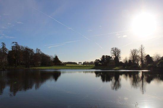 Buckingham, UK: View across to the Corinthian Arch