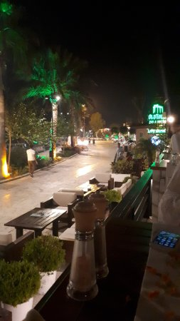 Liman Restaurant Lounge Club: View from table