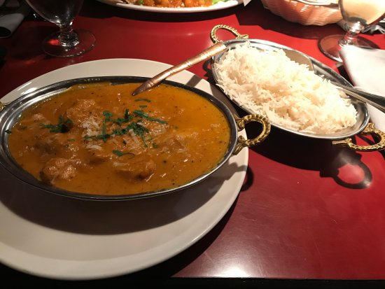 Duncan, Canada: Coconut Chicken with Rice!