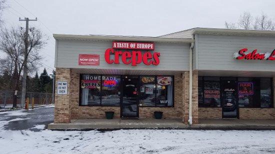 Rochester Hills, MI: It is at a strip mall.