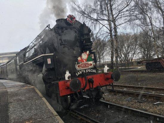 Haworth, UK: Leaving Keighley 9 December 17