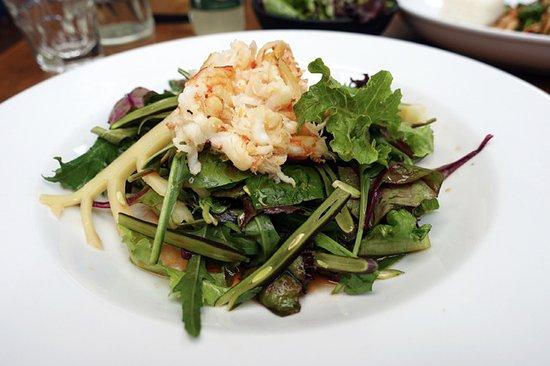 Iluka, Australia: Prawn Meat Salad