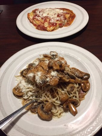Richland Hills, TX: Chicken Marsala and Lasagna