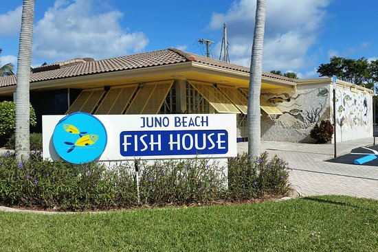 Juno Beach Fish House: Exterior