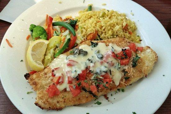 Juno Beach, فلوريدا: Parmesan Grouper