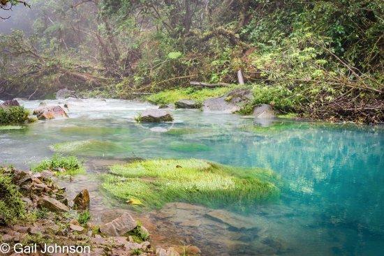 Tenorio Volcano National Park, Costa Rica : Rio Celeste