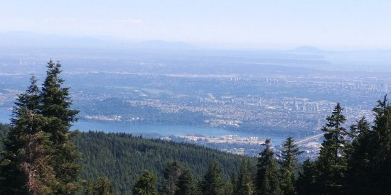 North Vancouver, Canada: View from Grouse Mountain