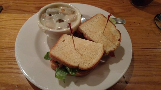 Clifton Forge, VA: BLT and French onion soup