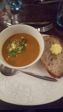 Lenham, UK: Moroccan Spiced Soup