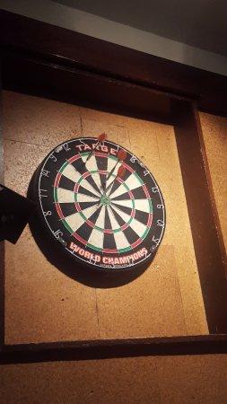 Lenham, UK: Darts Board