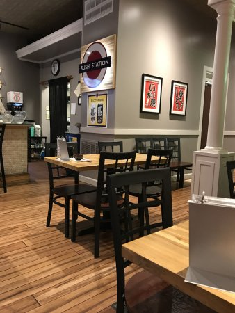 Restaurant Interior Picture Of The Sushi Station Webster Groves Tripadvisor The sushi station asub kohas webster groves. tripadvisor
