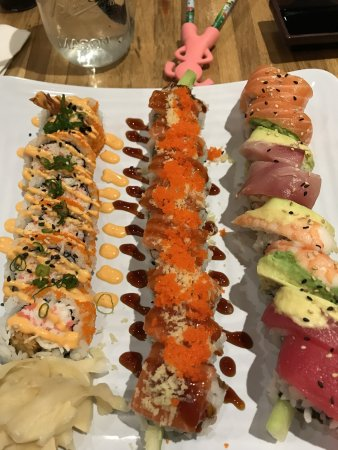 Delicious Sushi Rolls Picture Of The Sushi Station Webster Groves Tripadvisor On the street of north gore avenue and street number is 29. sushi station webster groves tripadvisor