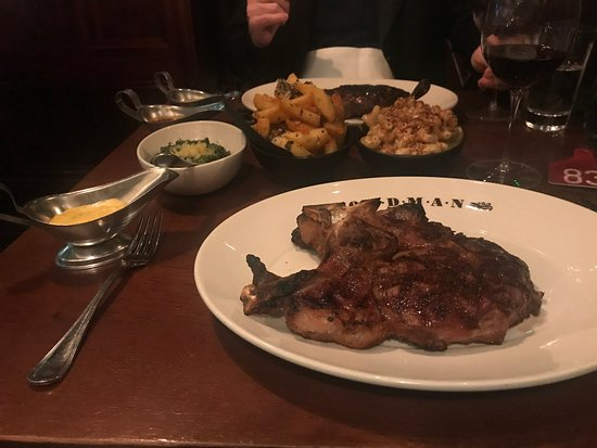 Goodman: Steak with trimmings